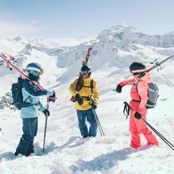女款全山地雙板滑雪板AGL500 - 紫色