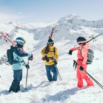 All mountain ski's voor dames AGL500 paars