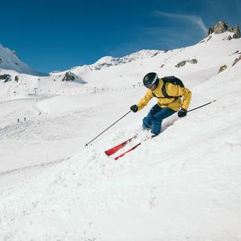 Veste de Ski All Mountain Homme AM900 Jaune