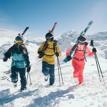 Ski's All Mountain dames AGL500 paars