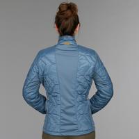 Women's 3-In-1 Waterproof Comfort -8°C Travel Trekking Jkt - TRAVEL 500 - Blue