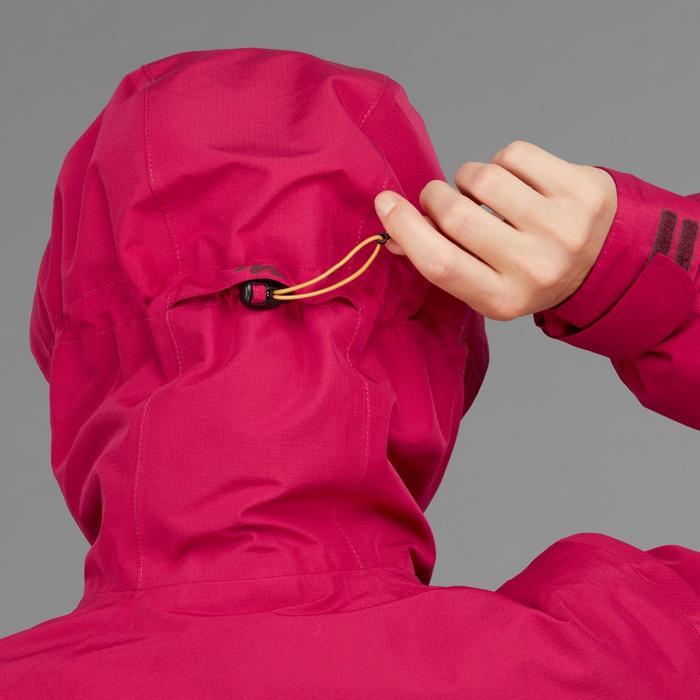 Veste trekking Rainwarm 500 3en1 femme rose