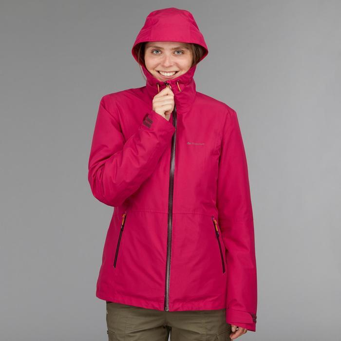 Veste trekking Rainwarm 500 3en1 femme - 1500014