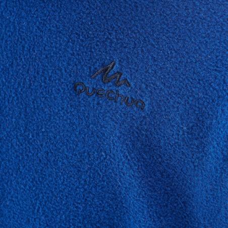 Fleece Hiking Anak Usia 7-15 tahun MH100 - Biru