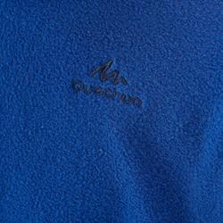 Forro polar de senderismo júnior MH100 azul