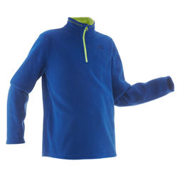 MH100 Children's Hiking Fleece Sweater - Blue