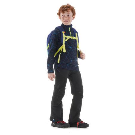 Sudadera polar de senderismo niño MH120 azul