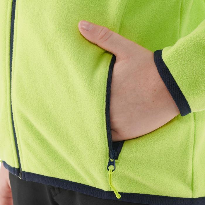 Veste polaire de randonnée enfant MH150 verte