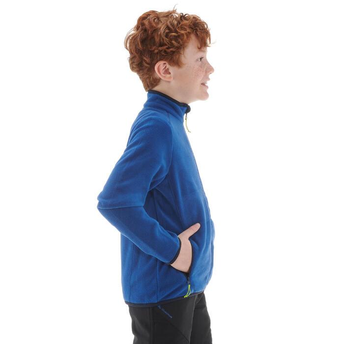 Fleece vest voor wandelen kinderen MH150 marineblauw 7-15 jaar