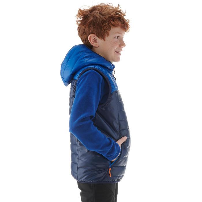 Wattierte Weste MH500 Kinder blau