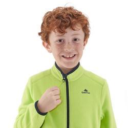 Fleecejacke Wandern MH150 Kinder Jungen 128-164cm grün