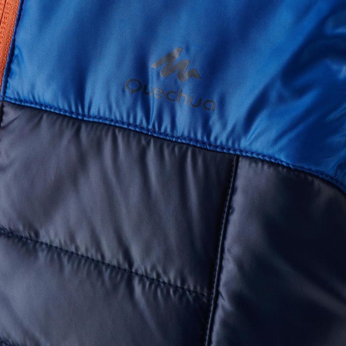 Gilet doudoune de randonnée MH 500 Bleu