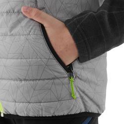 7到15歲兒童款健行背心MH500-灰色