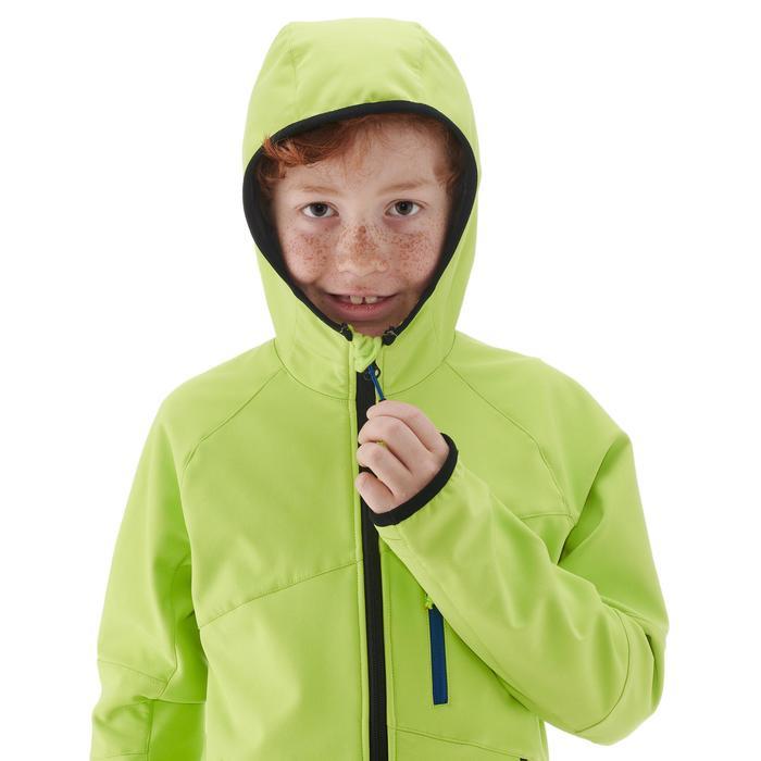 Softshelljacke MH900 Kinder grün