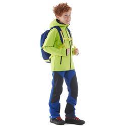 Veste softshell de randonnée enfant MH 900 verte