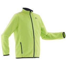 兒童健行刷毛外套MH150-綠色