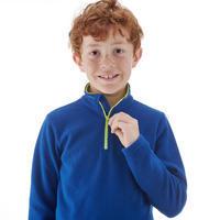 Sudadera polar de senderismo niño MH100 azul