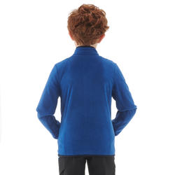 Kids' Hiking Fleece Jacket MH150 - Blue