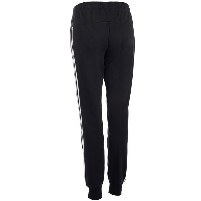 Damesbroek Adidas 500 3 strepen voor gym en stretching zwart