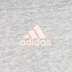 Sweatshirt 500 Gym Stretching Damen grau