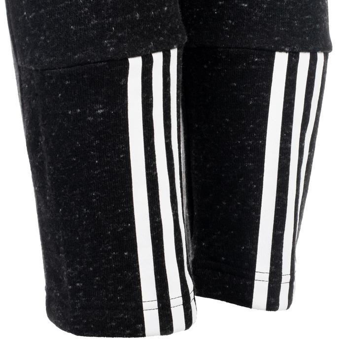 Heren 7/8-broek Adidas 500 voor gym en stretching donkergrijs