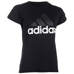 T-Shirt Gym 500 Slim Damen Fitness schwarz