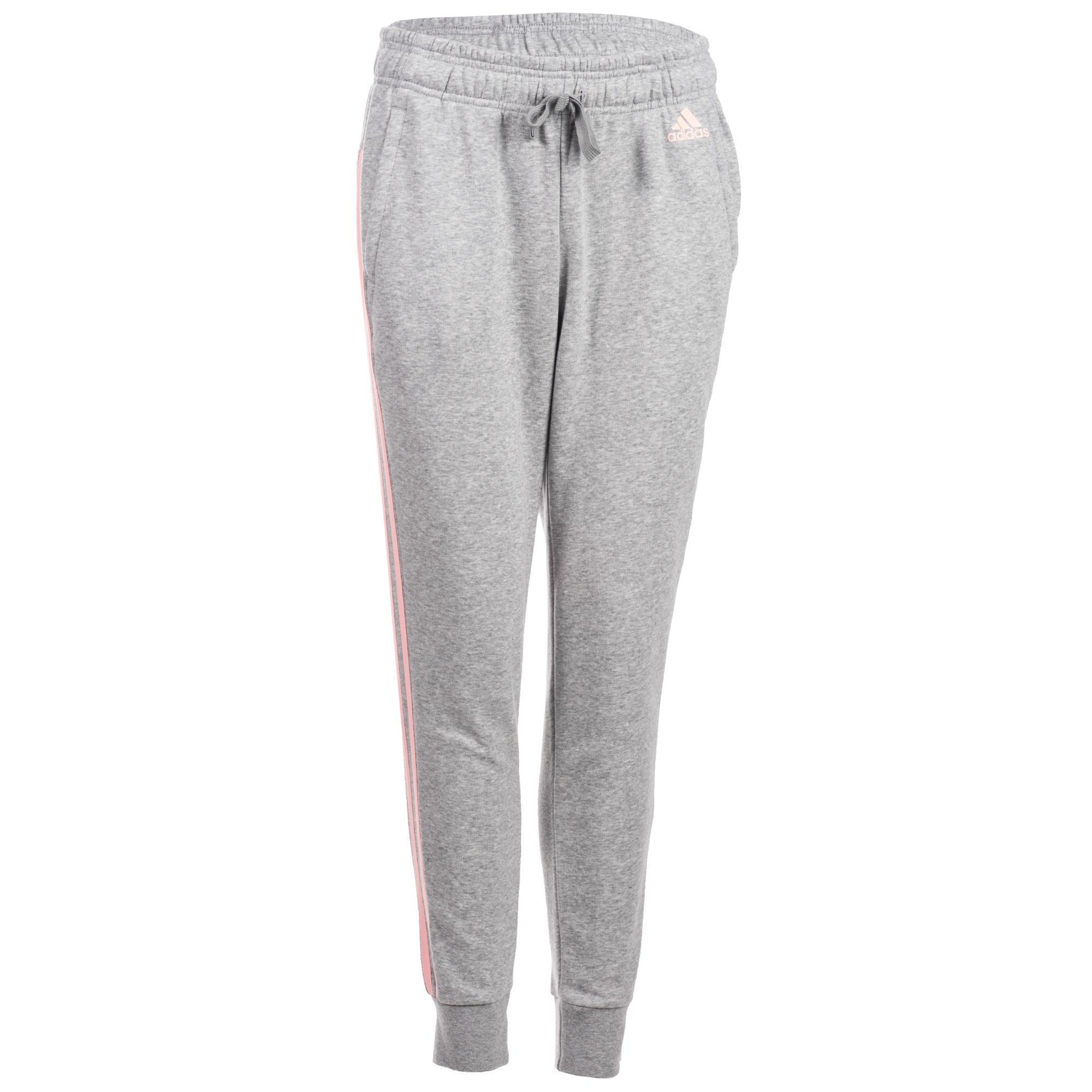 aca17b692bd Adidas Damesbroek Adidas 3S 500 voor gym en stretching grijs kopen met  voordeel