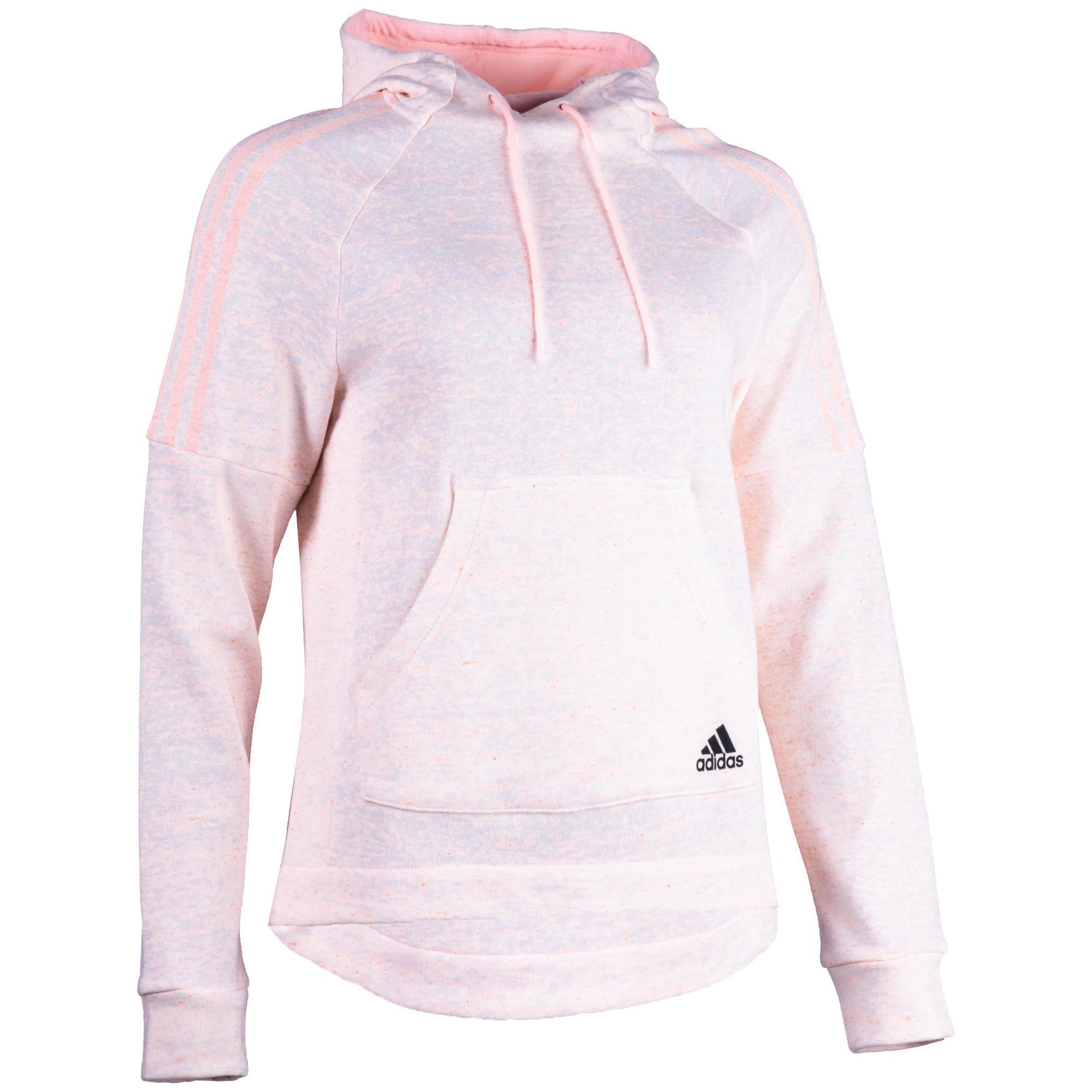 Adidas Dames hoodie Adidas 500 voor gym en stretching roze