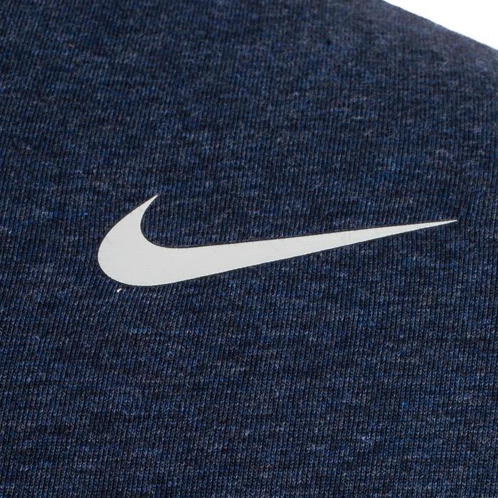 Heren T-shirt DFC 2..0 Nike 500 voor gym en stretching blauw