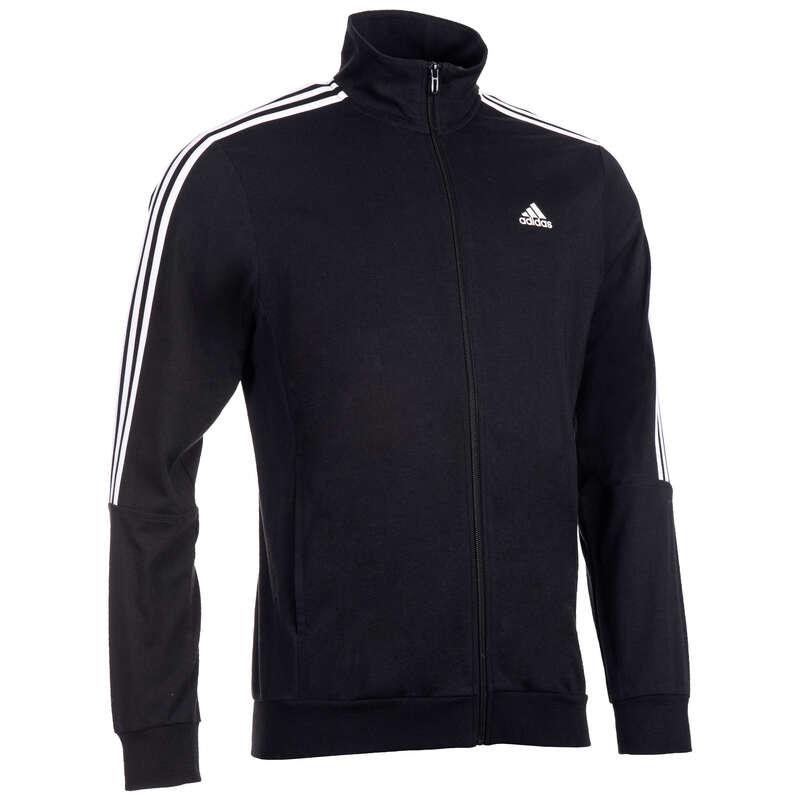 MAN GYM, PILATES COLD WEATHER APPAREL - 100 Gym Jacket - Black ADIDAS