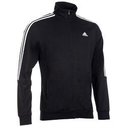 Chaqueta Adidas 100 Gimnasia Stretching negro hombre