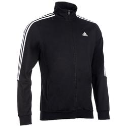 Herenvest Adidas 100 voor gym en stretching zwart