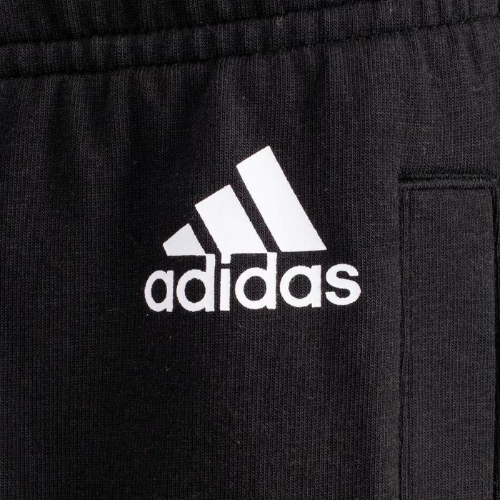 Pantalon Adidas 500 3 bandes Gym Stretching femme noir - 1500640