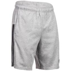 Short Adidas 3S 500 Gym Stretching homme gris
