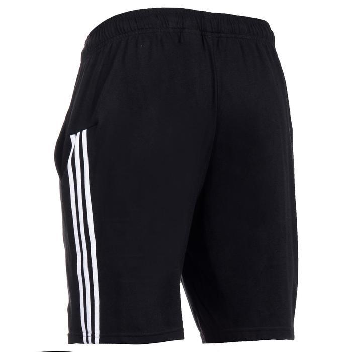 Sporthose kurz 3S 500 Gym Stretching Herren schwarz