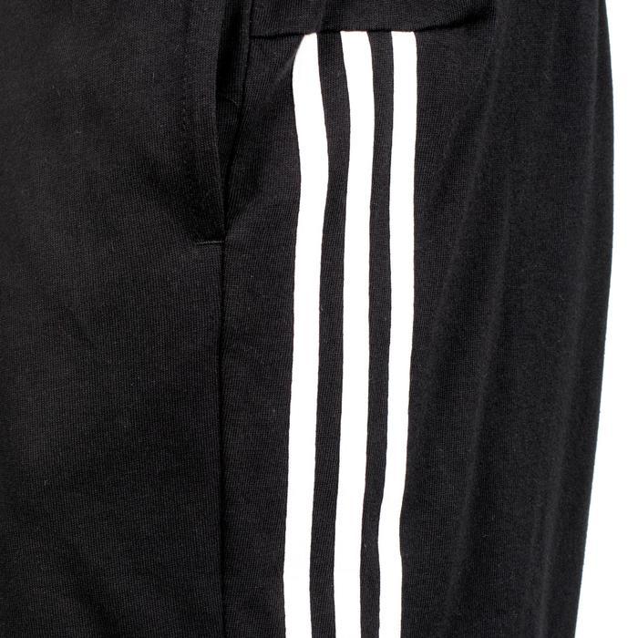 Herenshort Adidas 3S 500 voor gym en stretching zwart