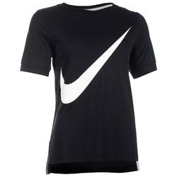 Dames T-shirt Nike 100 voor gym en stretching zwart