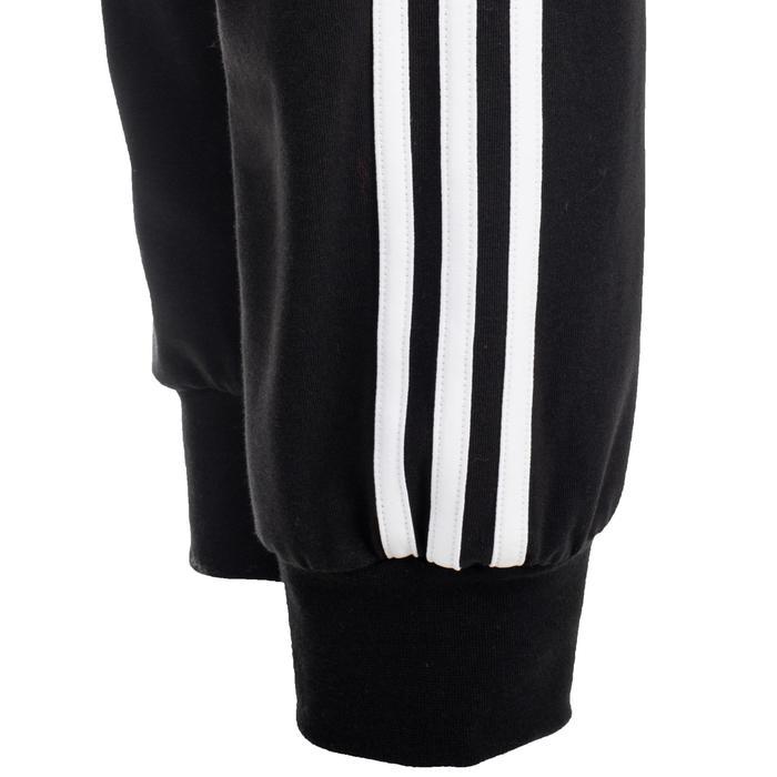 Pantalon Adidas 500 3 bandes Gym Stretching femme noir - 1500658