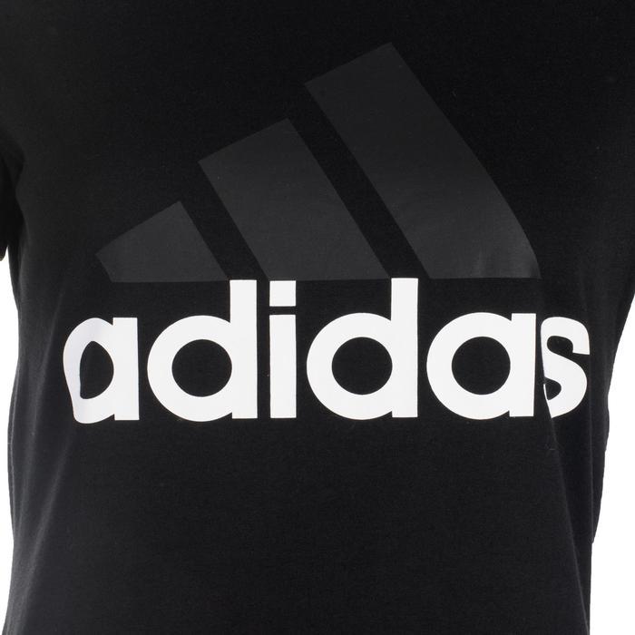 Camiseta Adidas 500 slim Gimnasia Stretching negro