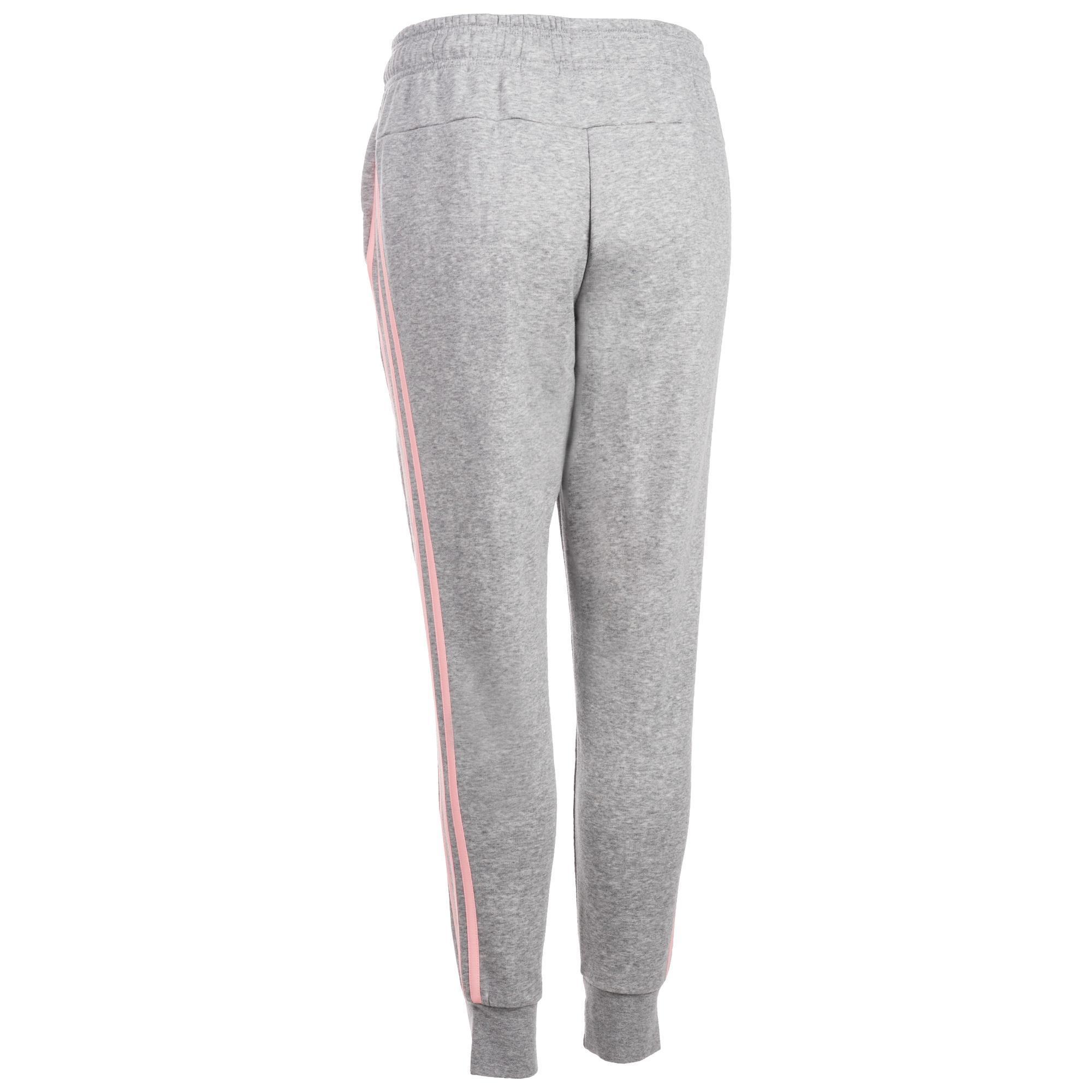 Slim Pantalón 500 Gris Adidas Gimnasia Chándal Mujer 3s Pilates nHCwHY7rq ad1f7a842c4f