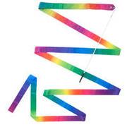 Večbarven trak za ritmično gimnastiko (6 m)
