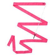 Rožnat trak za ritmično gimnastiko (4 m)