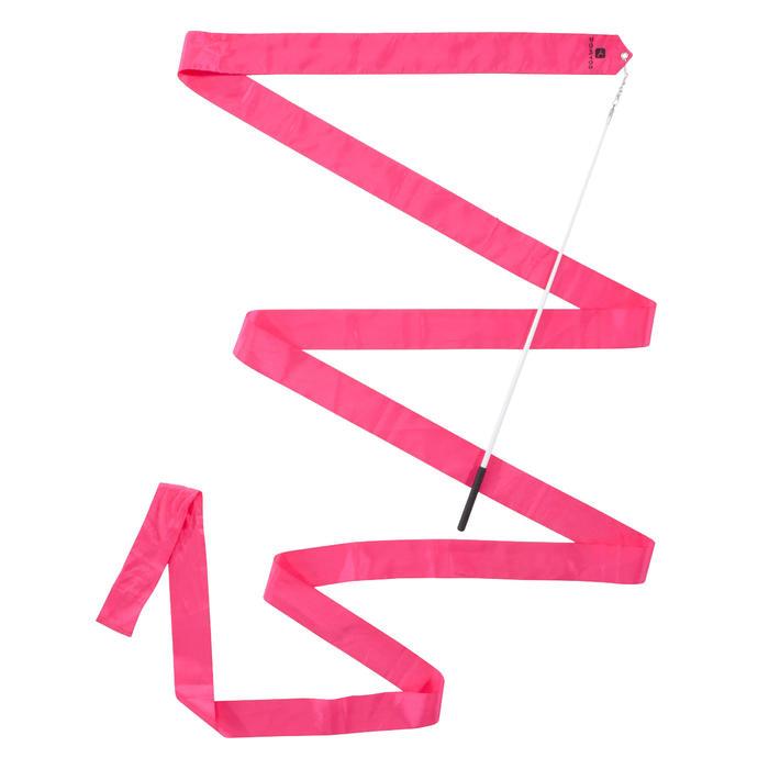 Cinta Gimnasia Rítmica 4 metros Domyos Rosa Chicle
