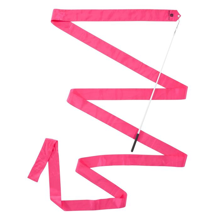 Ruban de Gymnastique Rythmique (GR) de 4 mètres Rose