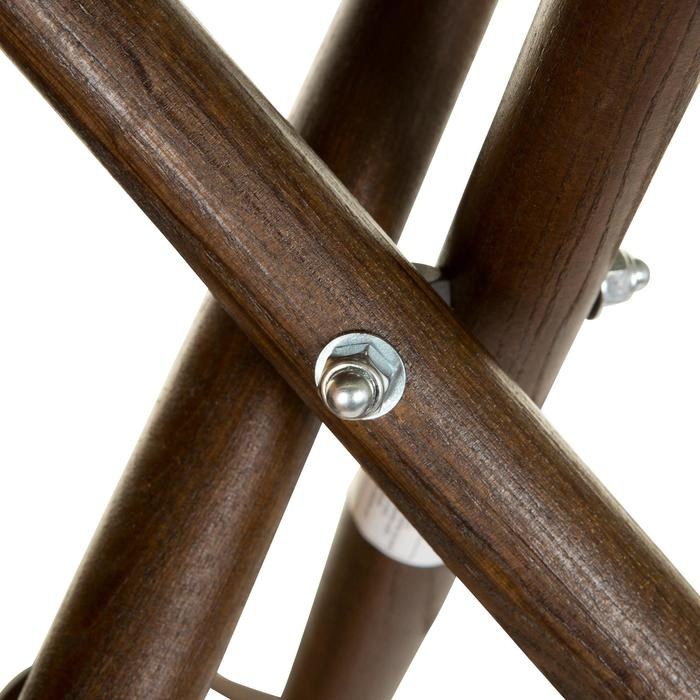 Jagd-Dreibein 500 Holz hoch