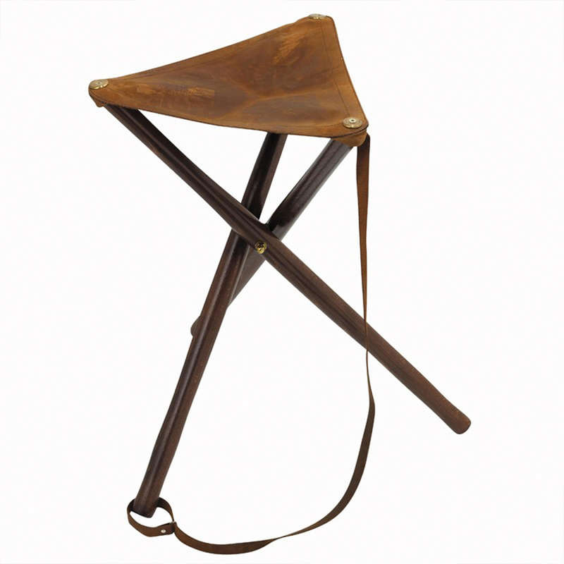 STOOLS/SEATS Shooting and Hunting - 500 Wooden high tripod SOLOGNAC - Hunting and Shooting Accessories