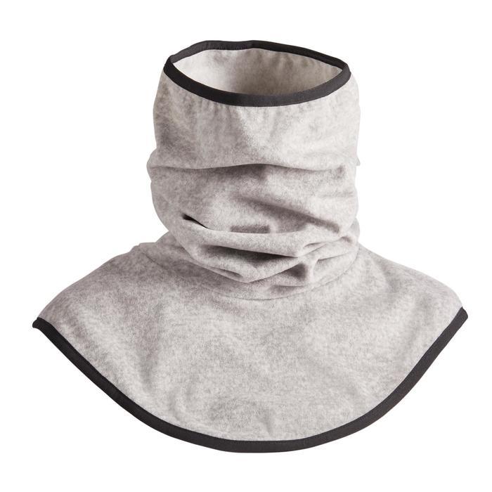 Braga cuello y pechera de fibra polar equitación adulto gris