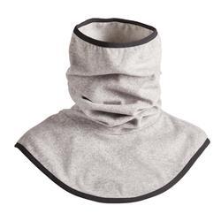 Schlauchschal Fleece Reiten Erwachsene grau