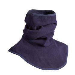 Fleece nekwarmer met borststuk voor volwassenen, ruitersport, marineblauw