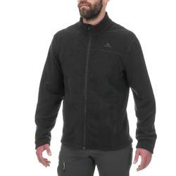 Men's Mountain Walking Fleece Jacket MH120 - Black